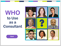 WHO to Use as a Consultant